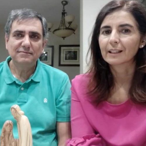 Juan de Dios García e Isabel Sánchez